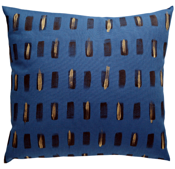 Pillow / BRUSHSTROKE / Royal Blue