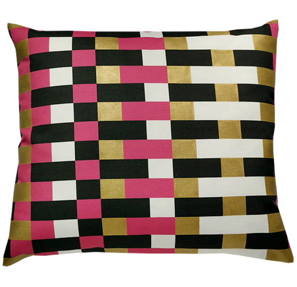 Pillow / COLOR BLOCK / Cerise