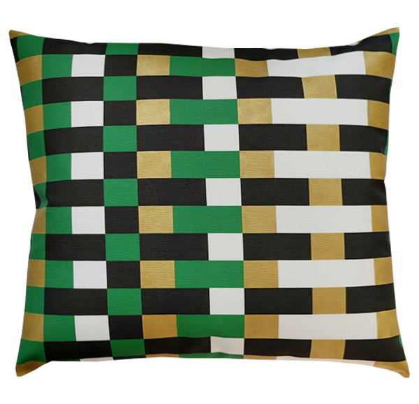 Pillow / COLOR BLOCK / Emerald