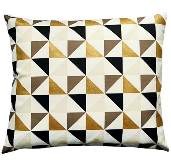 Pillow / KALEIDOSCOPE / Noir