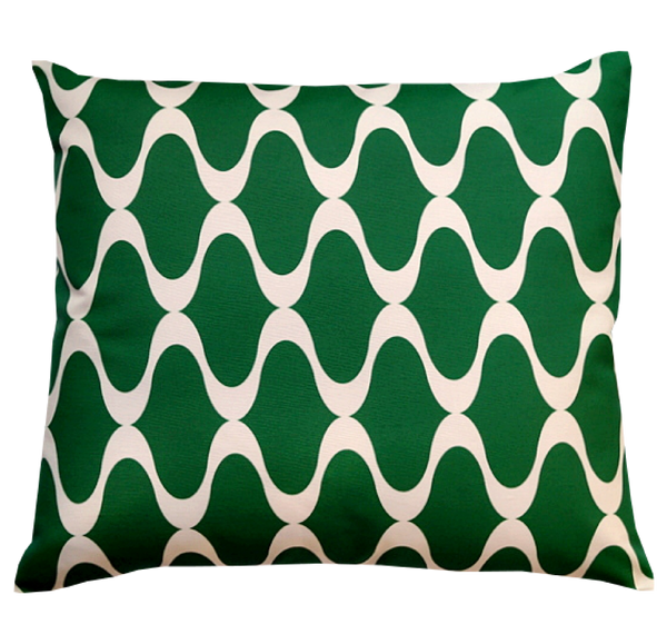 Pillow / ONDES / Emerald