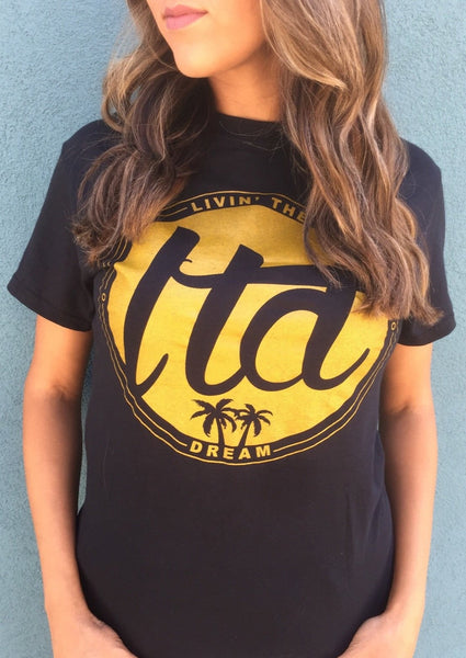 LTD Logo Tee (Black/Gold)