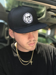 Black/White Logo Hat