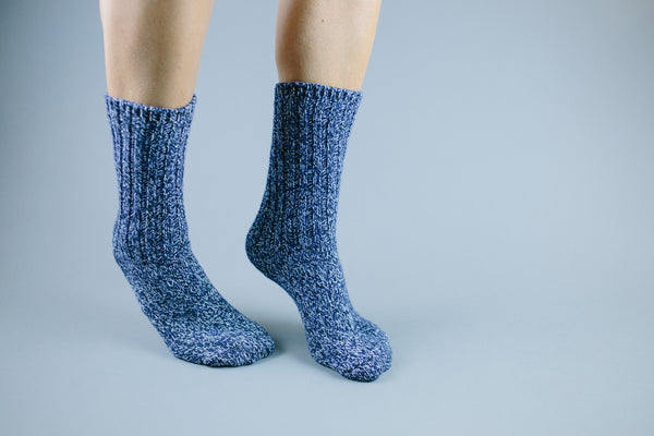 The Classic Heathered Merino Wool Sock