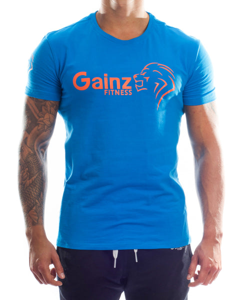 The Ambitio T - Ocean Blue - Gainz Fitness - 1