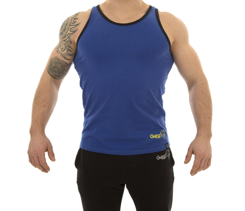 Nova Tank - Cobalt Blue - Gainz Fitness - 1