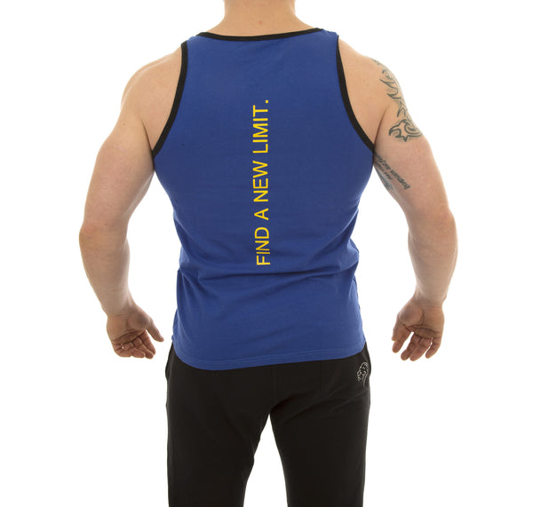 Nova Tank - Cobalt Blue - Gainz Fitness - 3