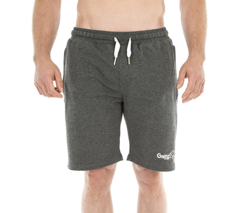 Motus Training Shorts - Heather Grey - Gainz Fitness - 1