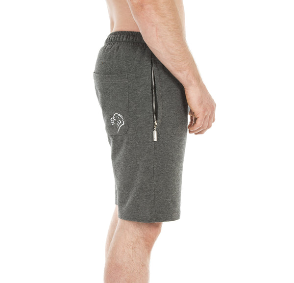 Motus Training Shorts - Heather Grey - Gainz Fitness - 2