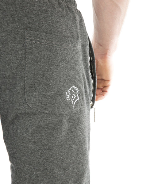 Motus Training Shorts - Heather Grey - Gainz Fitness - 5
