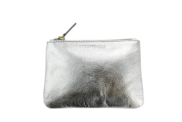 The 'Gia' Coin Purse - Silver - GWENYTH MAY