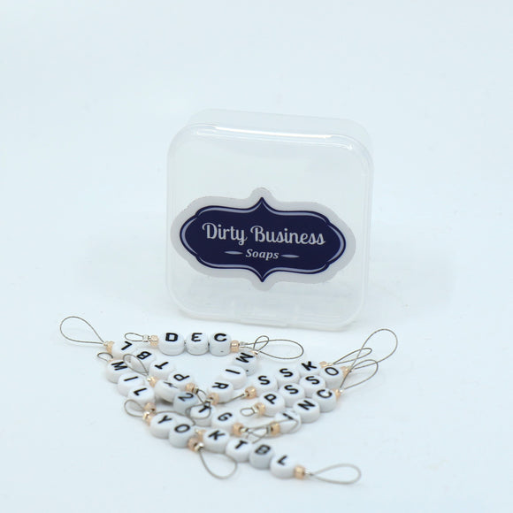 Dirty Business Stitch Markers