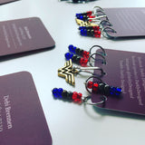 Darkly Designed Stitch Markers