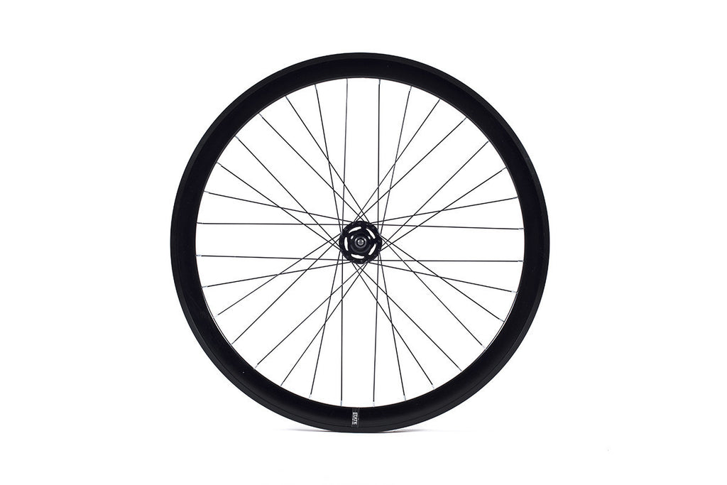 State Bicycle Co. - 40mm Deep V Black Wheel Set