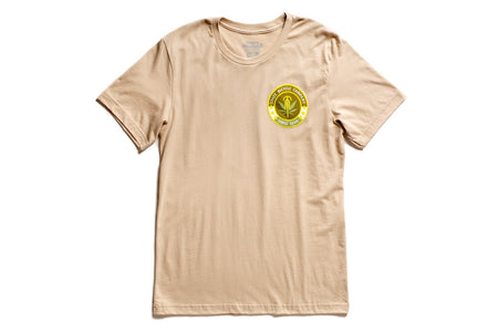"State Bicycle Co. - ""Riding High"" - Premium T-Shirt (Tan) (Ships via USA)"