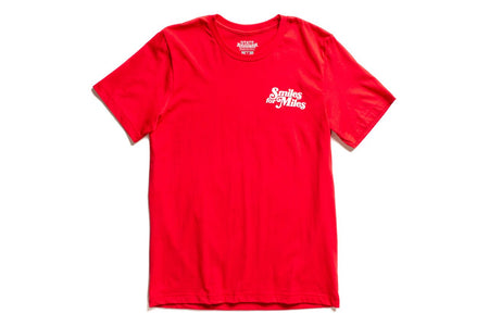 "State Bicycle Co. - ""Smiles for Miles"" - Premium T-Shirt (Red) (Ships via USA)"