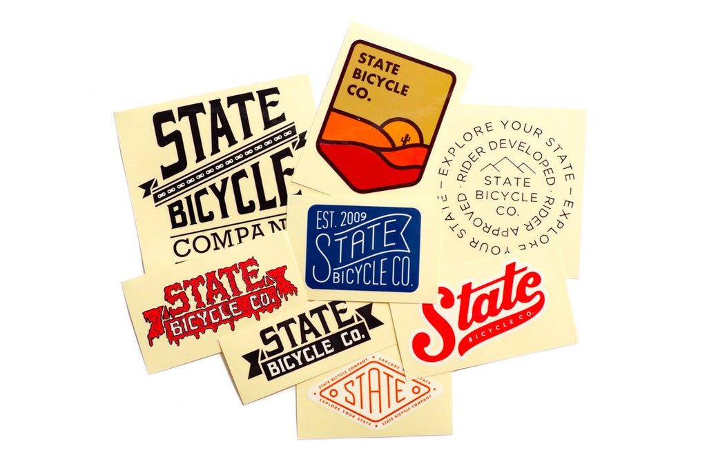 State Bicycle Co. - Decal Super Pack (Ships via USA)