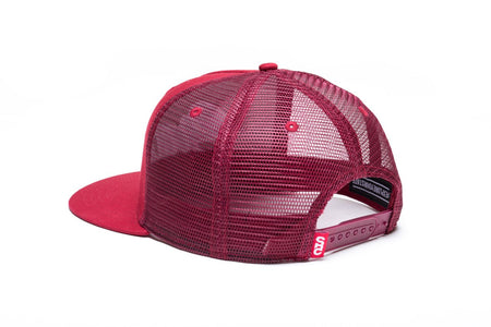 "State Bicycle Co. - ""Crossing the T's"" - Mesh Snapback (Red) (Ships via USA)"