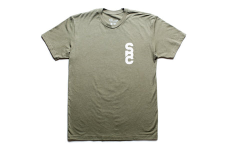 "State Bicycle Co. - ""Homage to the Hub"" (Army Green) - Premium T-shirt (Ships via USA)"