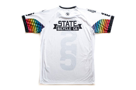 "State Bicycle Co. - ""Team Tech"" T-Shirt by Endura (White) (Ships via USA)"