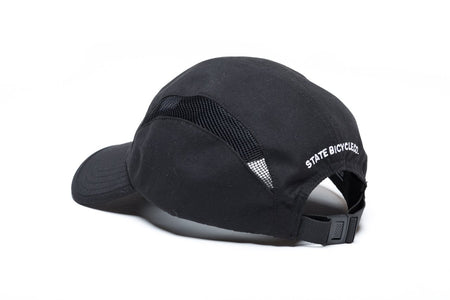 "State Bicycle Co. - ""Aero"" - Runner's Hat (Black) (Ships via USA)"