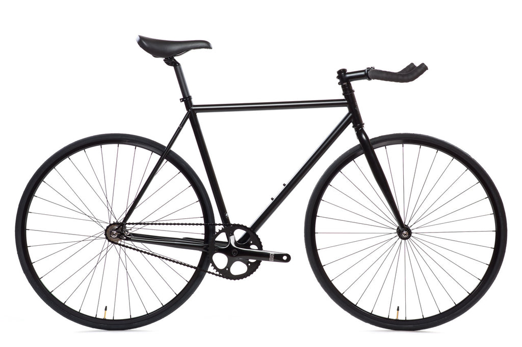 4130 - Matte Black 6 - (Fixed Gear / Single Speed)