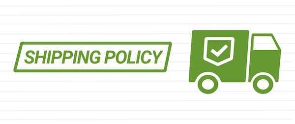 shipping policy banner
