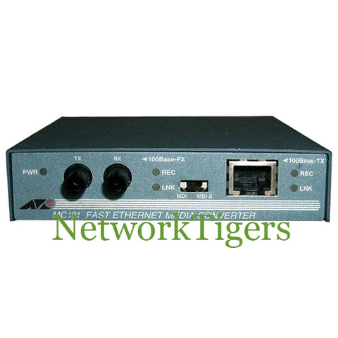Allied Telesis AT-MC101 100TX to 100FX/ST Media Converter
