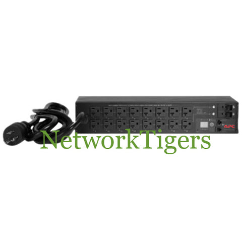 APC AP7902 2U 30A 16 x 5-20R 120V Switched and Metered Rack PDU Power Strip