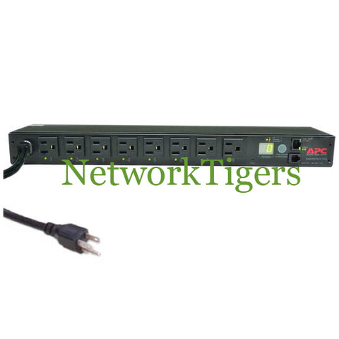 APC AP7900 Switched 8x NEMA 5-15R 15A 120V 1U RacK Mounted PDU