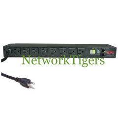 APC AP7900 Switched 8x NEMA 5-15R 15A 120V 1U Rack Mounted PDU - NetworkTigers