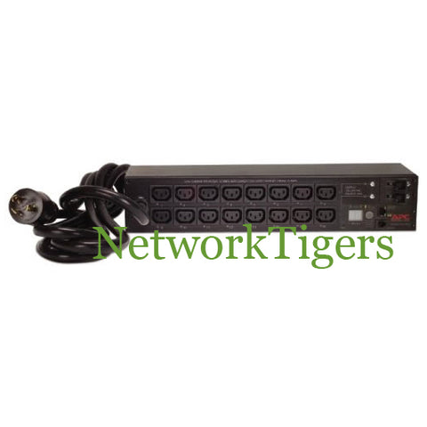 APC AP7911 Switched 16x IEC 320 C13 30A 208V L6-30P 2U Rack Mounted PDU - NetworkTigers