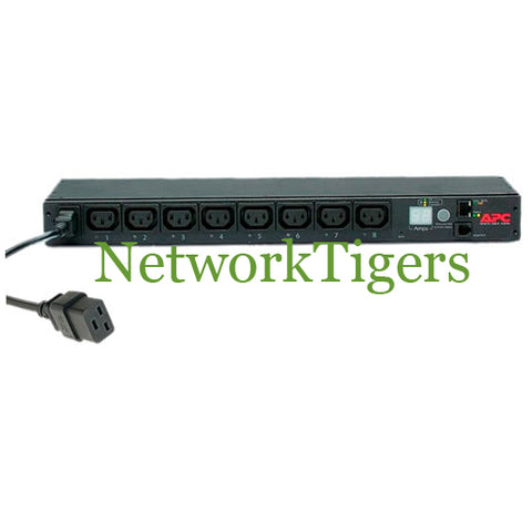 APC AP7921 Switched 8x IEC 320 C13 16A 230V 1U Rack Mounted PDU - NetworkTigers