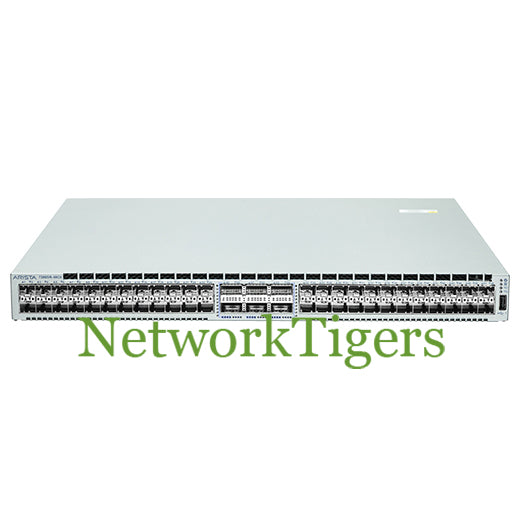 Arista DCS-7280SR-48C6-F 48x 10G SFP+ 6x 100G QSFP F-R Airflow Switch - NetworkTigers
