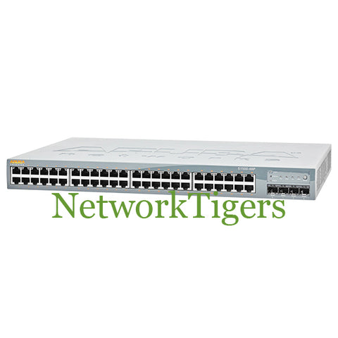 HPE S1500-48P Aruba S1500 Series 48x Gigabit Ethernet PoE+ 4x 1G SFP Switch - NetworkTigers