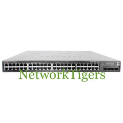 HPE S2500-48P-US Aruba S1500 Series 48x Gigabit Ethernet PoE+ 4x 10G SFP+ Switch - NetworkTigers
