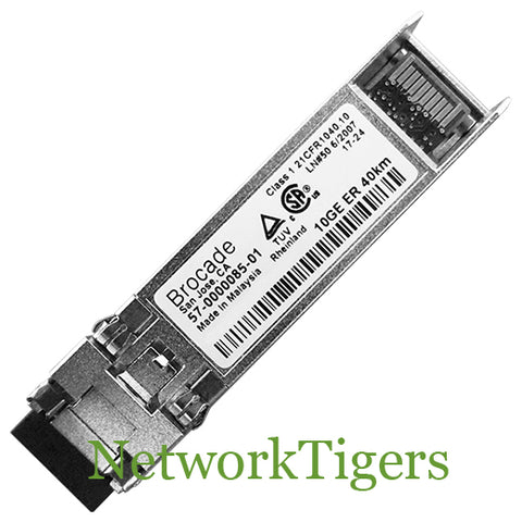 Brocade 10G-SFPP-ER 10 Gigabit LC SMF Optical SFP+ Transceiver