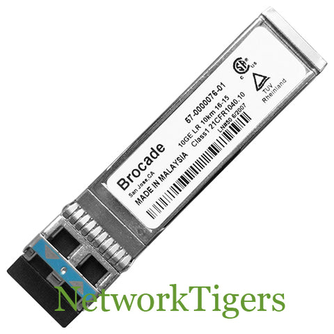 Brocade 10G-SFPP-LRM 10 Gigabit Ethernet Base-LRM Optical SFP+ Transceiver