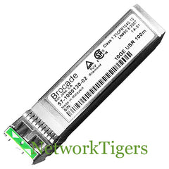 Brocade 10G-SFPP-USR 10 Gigabit USR MMF Optical SFP+ Transceiver - NetworkTigers