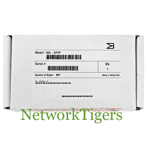 NEW Brocade 10G-SFPP-ZR 10 Gigabit Ethernet BASE-ZR LC Optical SFP+ Transceiver