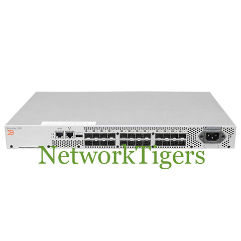 Brocade BR-320-0008 300 Series 24x 8 Gigabit Fibre Channel Switch 8 Ports Active