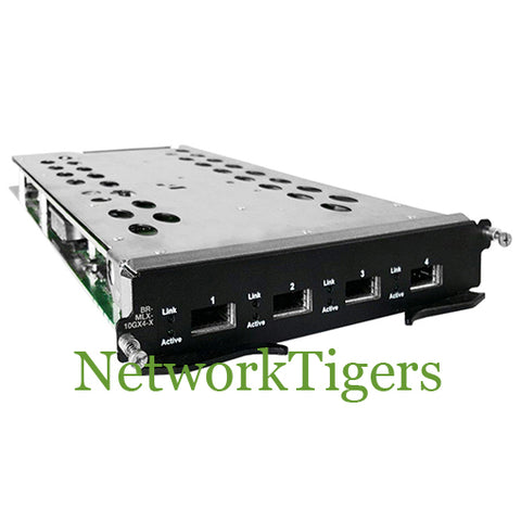 Brocade BR-MLX-10GX4-X-ML MLX/MLXe Series 4-Port 10 GbE (ML) XFP Router Module