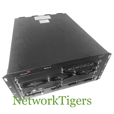 Brocade BR-MLXE-4-AC MLX Series 4 Slot MLXe-4 AC Power Router Chassis