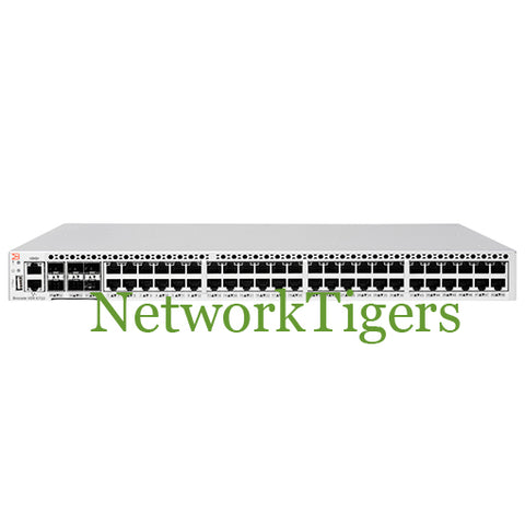 Brocade BR-VDX6710-54-F VDX 6710 48-Port Gigabit Non-Port-Side Exhaust Switch