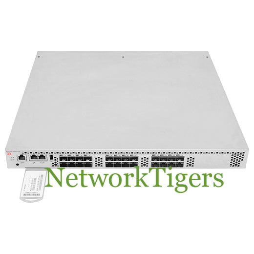 Brocade BR-VDX6720-24-R 24-Port 10GB SFP Switch with 16x ACTIVE PORTS