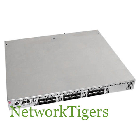 Brocade BR-VDX6720-24-F 24P SFP+ AC Non-port Side Exhaust Airflow Network Switch