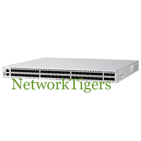 Brocade BR-VDX6740-24-R 24x 10G SFP+ 4x 40G QSFP+ Port-Side Exhaust Switch - NetworkTigers