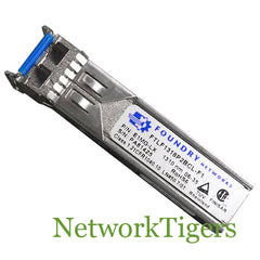 Brocade E1MG-LX-OM 1000Base-LX SFP optic SMF LC connector - NetworkTigers