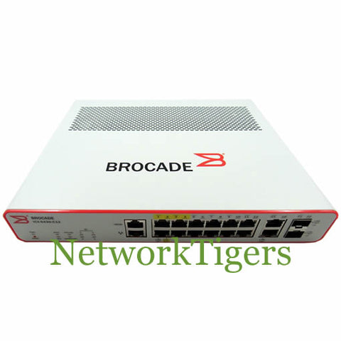 Brocade ICX6430-C12 ICX Series 12x Gigabit Ethernet 2x 1G SFP Switch - NetworkTigers