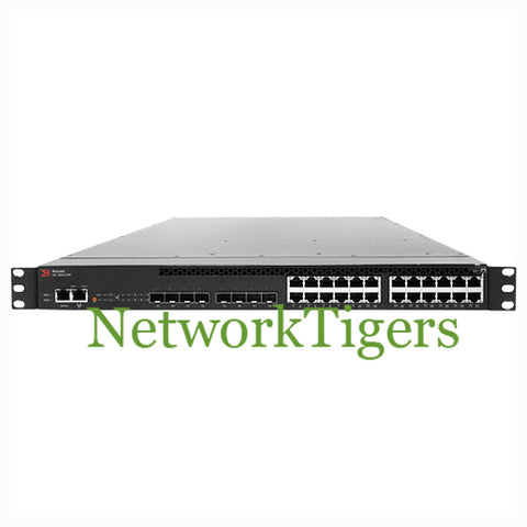 Brocade ICX 6610-24P Series 24x Gigabit Ethernet PoE 8x 10G SFP+ Switch
